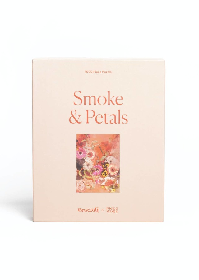 Smoke & Petals Puzzle by The Flower Alley