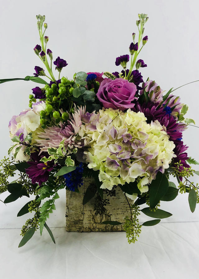 Natural Elegance Bouquet by The Flower Alley