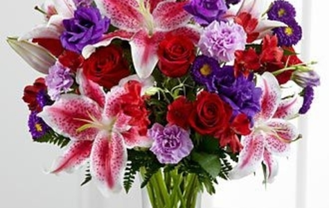 Display of Stunning Beauty Bouquet by The Flower Alley