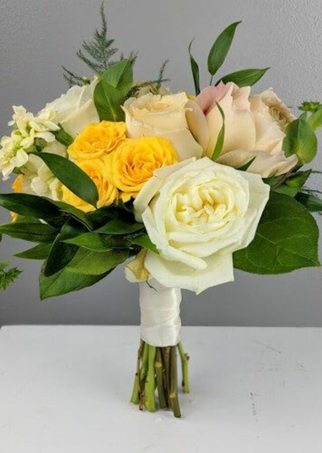 Display of Sunshine Collection: Small Bouquet by The Flower Alley