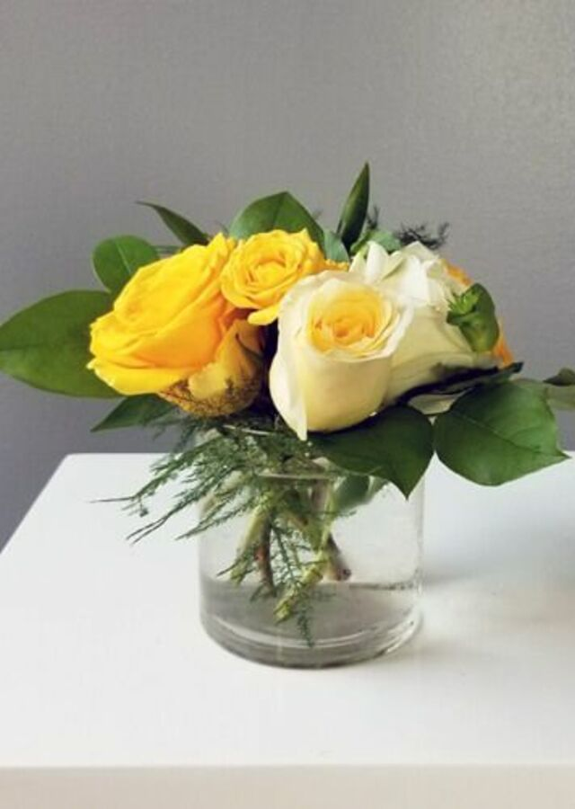 Display of Sunshine Collection: Small Centerpiece by The Flower Alley