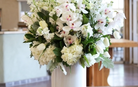 Display of Supreme White Elegance by The Flower Alley