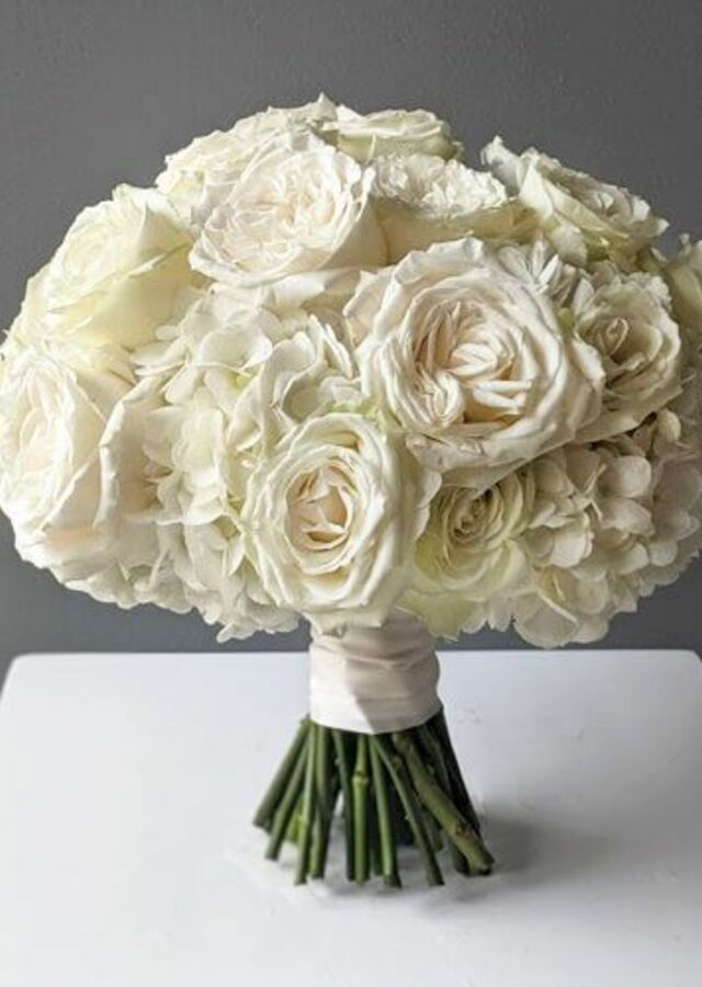 Display of Sweet and Chic: Classic Bouquet by The Flower Alley