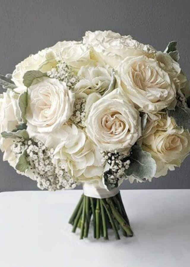Sweet and Chic: Garden Bouquet by The Flower Alley