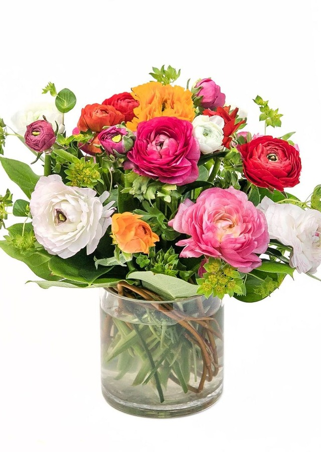 Display of Sweet Ranunculus by The Flower Alley