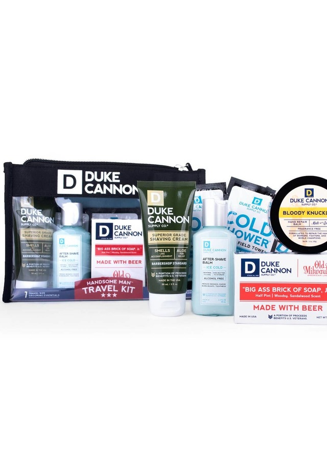 Display of The Handsome Man Travel Kit - Save $7.50 by The Flower Alley