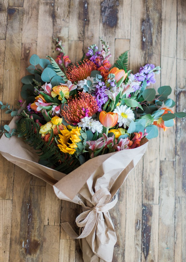 This Season's Best Designer's Choice Loose Bouquet by The Flower Alley