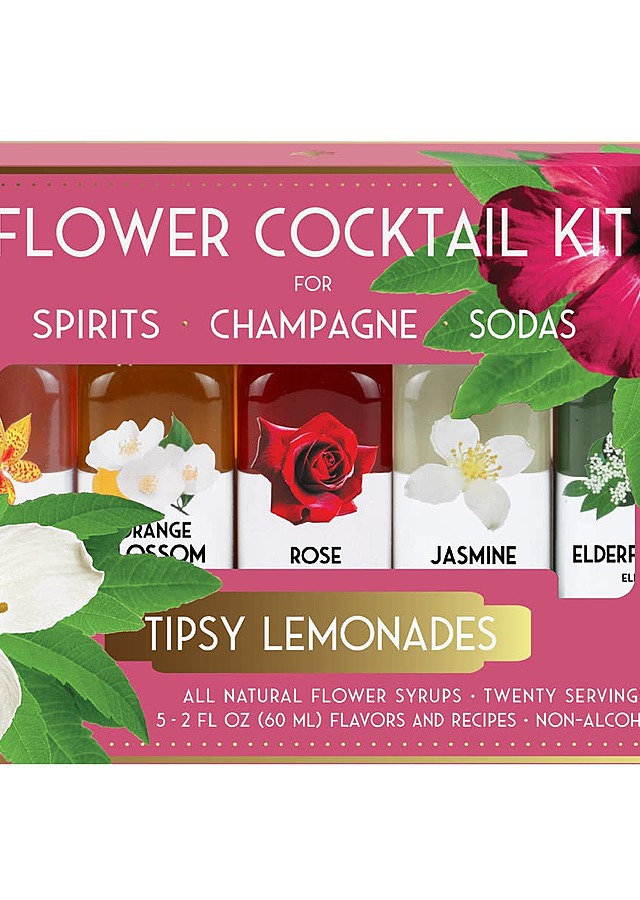 Display of Tipsy Lemonades Cocktail Kit by The Flower Alley