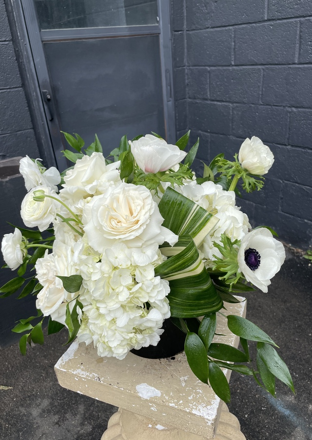 Display of The Moira Rose by The Flower Alley