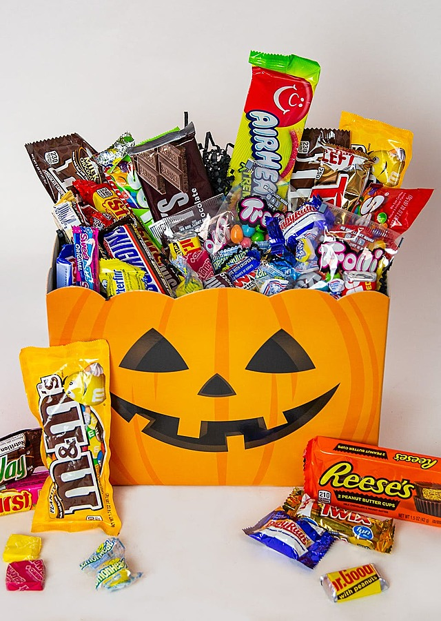 Trick or Treat Candy Box by The Flower Alley