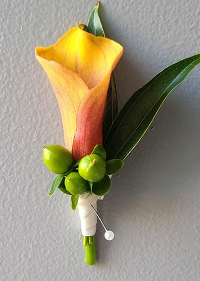 Display of Tropical Collection : Boutonniere by The Flower Alley