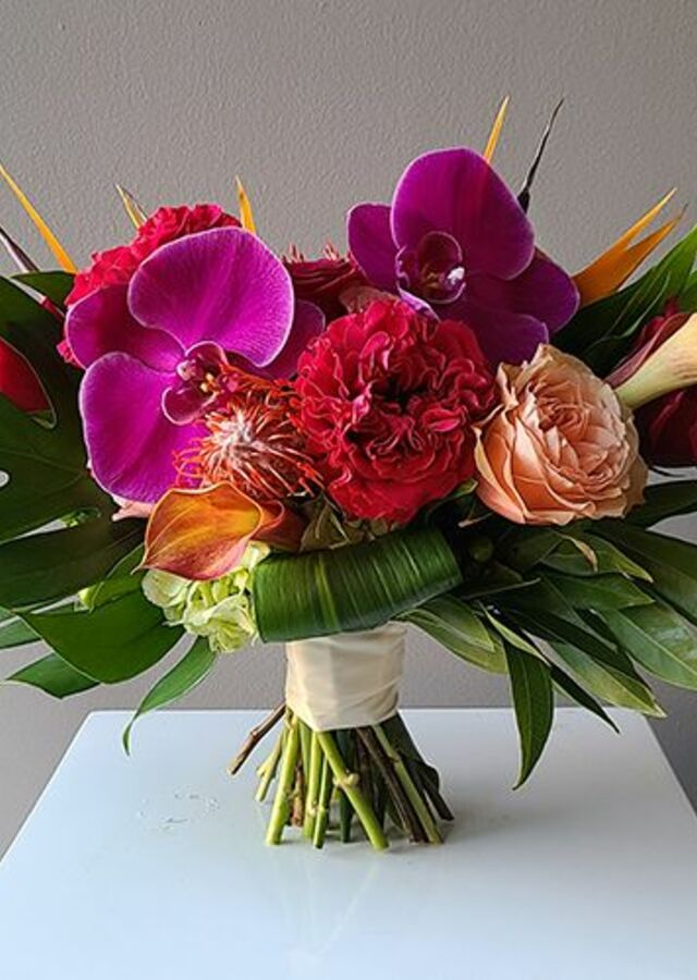 Tropical Collection: Medium Bouquet by The Flower Alley