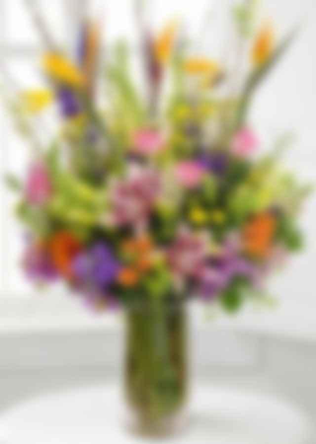 Tropical Romance Bouquet | The Flower Alley