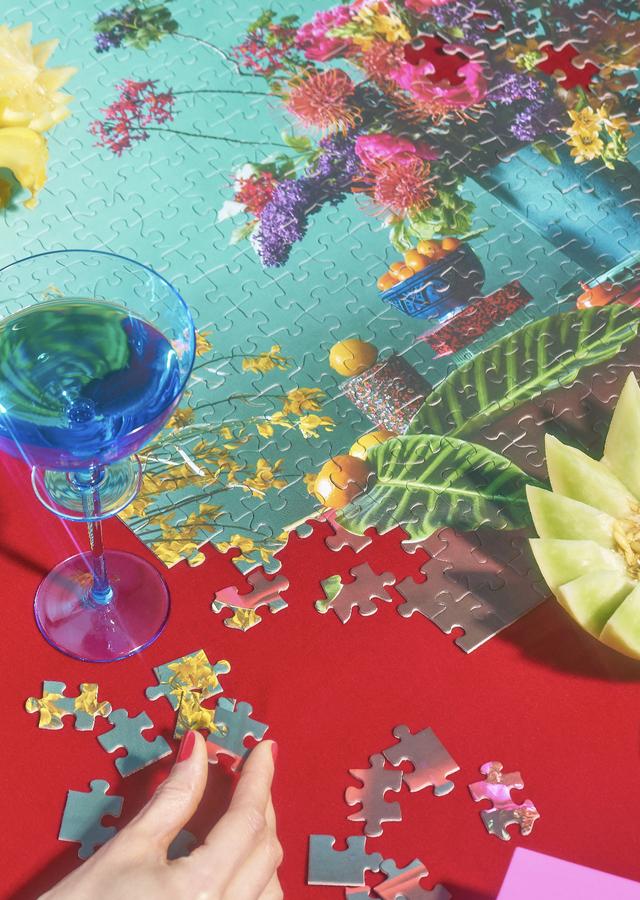 Display of Tutti-Frutti 500p Puzzle by The Flower Alley