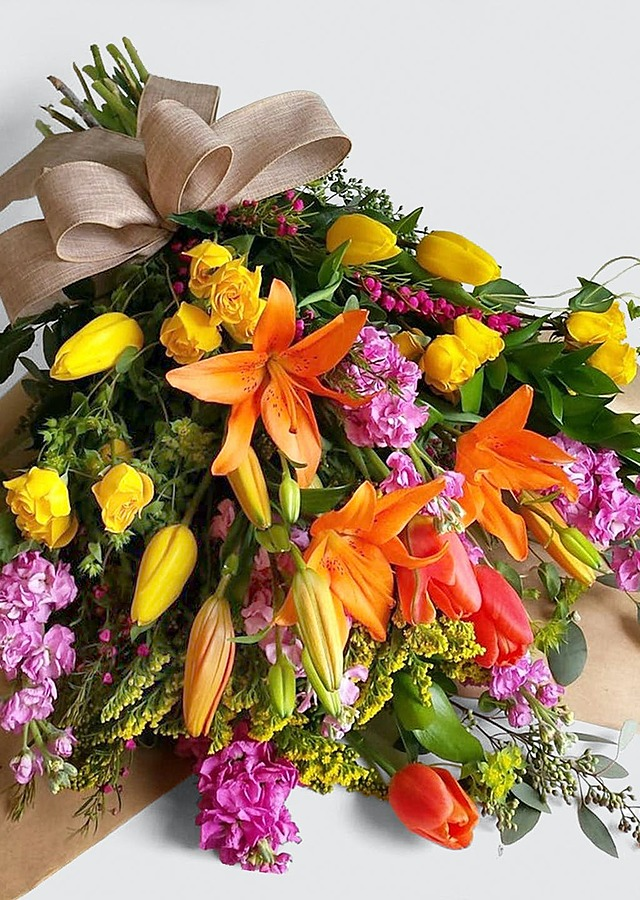 Vibrant Bouquet by The Flower Alley