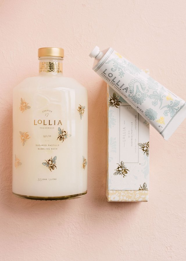 Wish Bubble Bath & Handcreme Duo by The Flower Alley