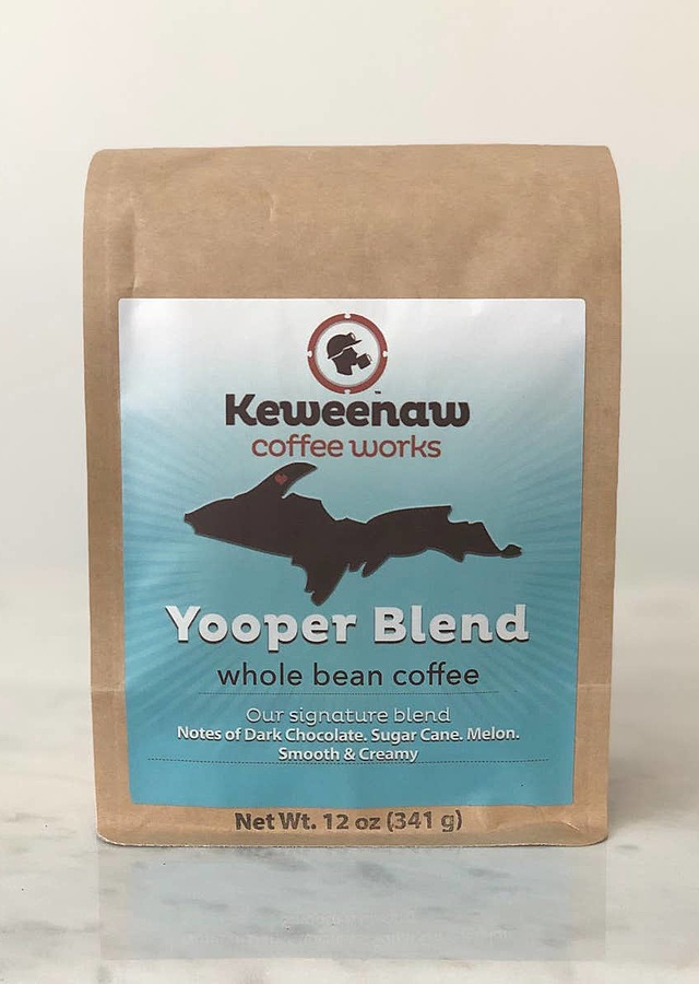 Yooper Blend (12oz) Ground Coffee by The Flower Alley